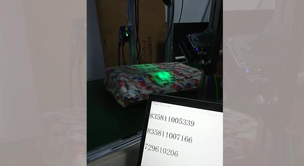 物流包裹扫码覆盖五个面读码